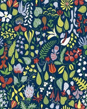 HERBARIUM2744 Scandinavian Designers Borastapeter