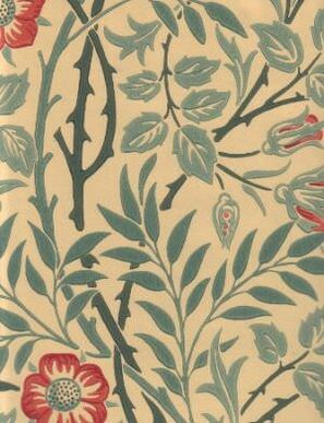 210478 Compendium II Wallpaper Morris & Co